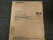 Caterpillar Cat 420D Backhoe Loader w 3054 Engine Parts Catalog Manual Book