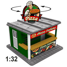 1:32 Spur 1 Pizza Stand w/Motorized Rotating Banner