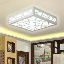 Modern Ceiling Light Wood Fixture Carving Water Cube Plafonniers lustres Neuf