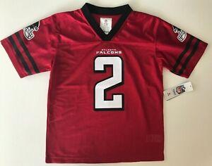 Atlanta Falcons Matt Ryan No. 2 Red Jersey Youth Size 12-14