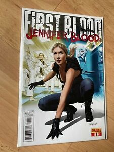 First Blood 1 Jennifer Blood - High Grade Comic Book - B54-78