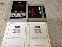 1995 Ford Thunderbird Mercury Cougar XR7 XR-7 Repair Shop Service Manual Set OEM