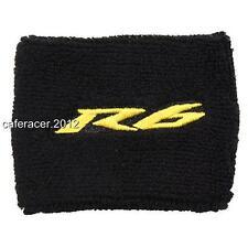 Yamaha R6 YZF Brake Reservoir Socks fluid TANK oil cup cover noir & jaune