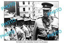 OLD 8x6 PHOTO AUSTRALIAN VICTORIA CROSS RECIPIENT SIR RODEN CUTLER