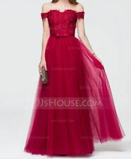 Evening Dress - Burgundy