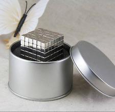 216 Stk. Magnetwürfel Magnet 5X5X5mm Cube N35 Neodym Magnet Ni-Cu-Ni Board Pinn