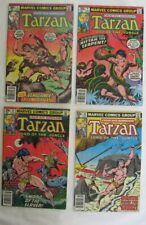 Tarzan 5,9,15,16 from  Marvel 1977-78. Lot of 4
