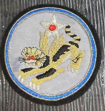 """USAAF """"Flying Tigers"""" Bullion Shoulder Patch ."""