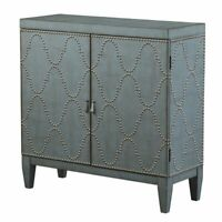 ACME Cherie Accent Chest in Antique Blue