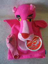 1976 Pink Panther plush hand puppet vintage 70s toy cartoon tv character w/ Tag