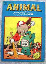 Animal Comics #23 DELL 1946 Walt Kelly Pogo FUNNY BASEBALL Umpire Cover BIG PICS