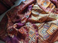 Large Long Scarf Aztec Design Trendy Ethnic Beautiful Gift