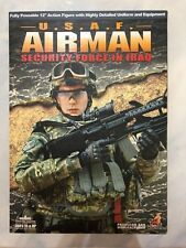 Hot Toys Military Airman Security Force in Iraq U.S.A.F. 12 inch Figure NEW