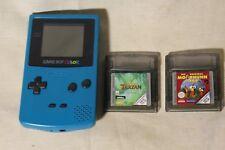 Game Boy Color Türkis + 2 Spiele