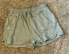 Girls Union Bay Stretch Waist Shorts Sz 10 Youth Khaki Gray