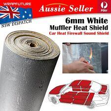 Heat Shield Mat Car Exhaust System Muffler Noise Insulation Cover 5mm 1M x 2M AU