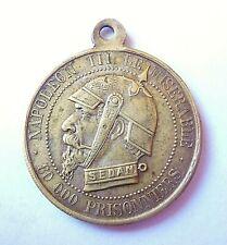 NAPOLEON III  médaille satirique 27mm