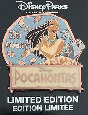 DISNEY PIN POCAHONTAS PRINCESS 20TH ANNIVERSARY MOVIE MEEKO FLIT LE 2000