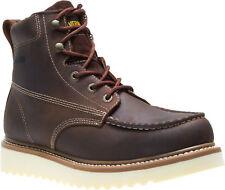 """Men Wolverine Loader 6"""" Leather Non Steel Work Boot W10744 Brown 100% Original"""