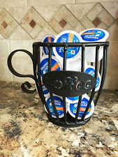 Amish Wrought Iron Coffee Creamer K Cup Or Expresso Pod Holder