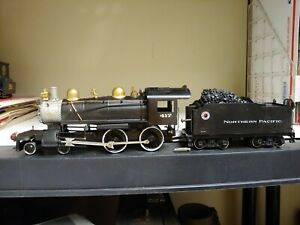 Vintage Brass O Scale American By All Nation  Steam Engine And Tender