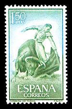 "Bullfighting Spain Stamp Poster #11 Canvas Art Poster 16""x 24"""