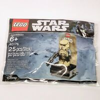 STAR WARS lego IMPERIAL SCARIF STORMTROOPER rogue one GENUINE 40176 polybag MISB