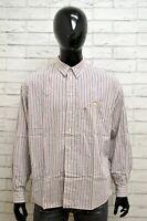 Camicia Uomo CARRERA Taglia Size XL Maglia Shirt Man Cotone Manica Lunga Casual