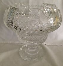 "1970's Waterford Crystal Heritage Collection 9"" Footed Centerpiece"