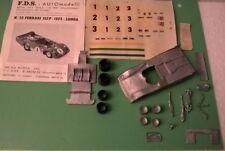Ferrari 312PB Long SEFAC 1000 Km Monza'73 #3 1/43 Kit montaggio RARE FDS Vintage