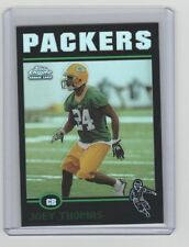 2004 Topps Chrome Black Refractor Joey Thomas #6/100 Packers Montana State