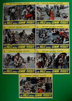 H41 Lot Fotobusta Die Valle Der Herren Streckmetall Dane Clark James Craig Roth