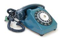 Ancien Téléphone fixe vintage à cadran Socotel 1981 France (Réf#E-226)