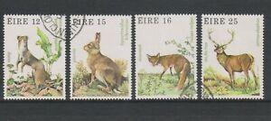 Ireland - 1980, Wildlife set - F/U - SG 461/4