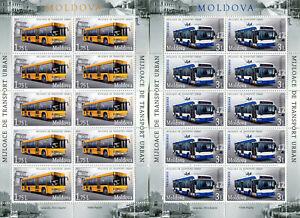 Moldawien ** Kleinbogen Nr. 850-51