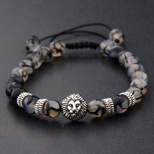 8mm Natural Round Gemstone Bead Handmade Beads Men Women Bracelets Jewelry