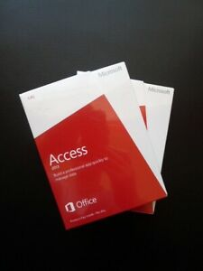Microsoft Access 2013 Genuine UK Retail (Windows 7, 8 and 10 Compatible) NEW