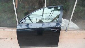 VW PASSAT B7 (2010-14) FRONT PASSENGER SIDE FRONT DOOR - LOCKS & REG LC9X BLACK