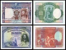 Facsimiles de Billetes 1000 pesetas de 1925-1928 - Reproductions