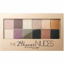 Maybelline THE 24 KARAT NUDES 24k Gold Eyeshadow Palette Nude Naked Neutral NEW!