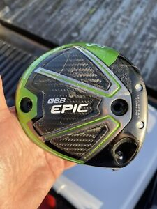 CALLAWAY GBB EPIC Sub Zero 9* DRIVER CLUB HEAD ONLY Right Hand No Weights