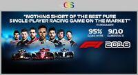 F1 2018 Steam Key Digital Download PC [Global]