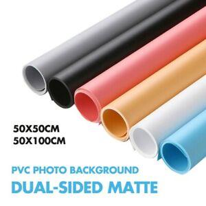 Selens Dual-sided Matte Anti-wrinkle Photography Backdrop PVC 50x50cm/50x100cm