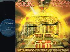 ONE HIT WONDERS 20 Extra-Ordinary Hits VINYL LP Warwick UK 1978 WW 5048 @N/M-EXC