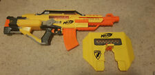 Nerf Stampede ECS Assault Rifle with Shield and 10-bullet Magazine