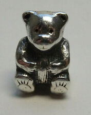 Original Pandora Beads Element Teddy Bär Silber Charms  54a