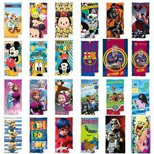 Disney Handtuch Paw Patrol Badetuch Batman Strandtuch Minions Superman Mickey