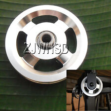 Universal 93mm Aluminum Bearing Pulley Wheel for Gym Fitness Exercise Equipment
