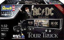 - REV07453 - Camion KENWORTH avec semi remorque aux couleurs AC/DC Tour Truck en