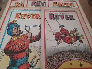 5 ROVER COMICS 1948